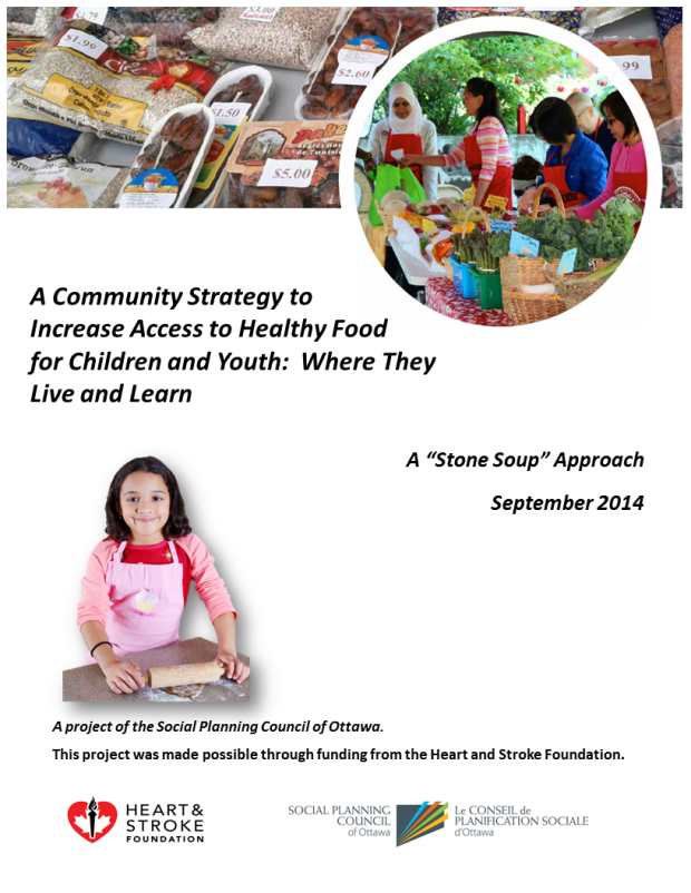 food security children and youth report cover Oct 7